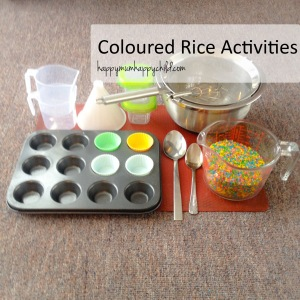 Coloured Rice Activities EDITED