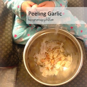 Peeling Garlic EDITED