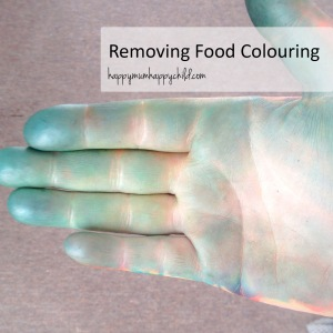 Removing Food Colouring EDITED