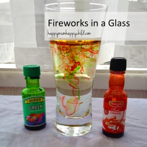 Fireworks in a Glass