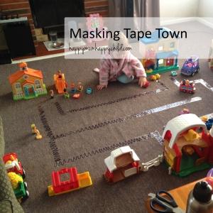 Masking Tape Town