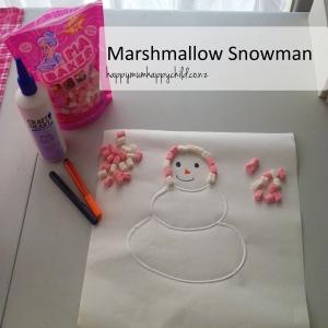 Marshmallow Snowman 01