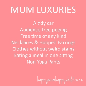 Mum Luxuries