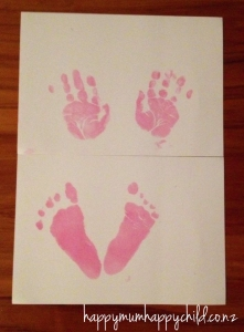 Baby Ink Inkless Printing Kit Review by Happy Mum Happy Child